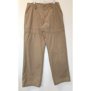 GAP Vintage Relaxed Fit Khaki Cargo Casual Pants